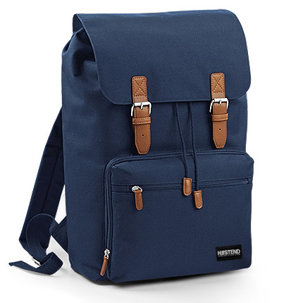 Navy & Brown Backpack, Plus d'infos...