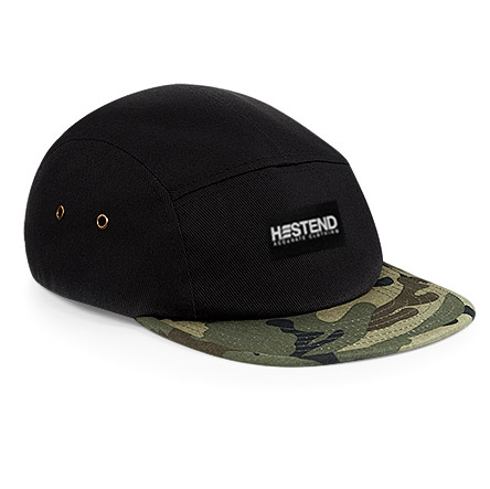 5 panel Black & European Camo, Plus d'infos...
